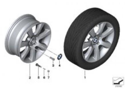 BMW LA wheel Star Spoke 330 - 18''