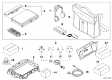 DVD-system Portable