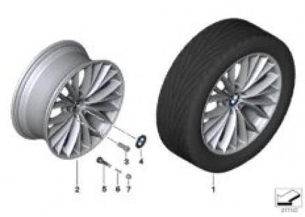BMW LA wheel, V Spoke 342