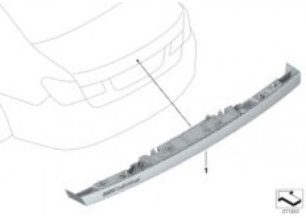 Individual handle for trunk lid