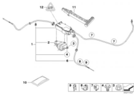 Parking brake/actuator