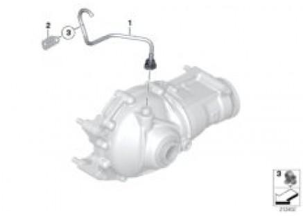 Final drive(frnt axle),ventilat./4-wheel