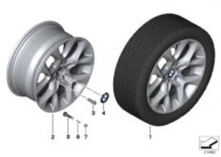 BMW LA wheel, Star Spoke 334