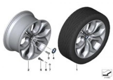 BMW LA wheel Y Spoke 336