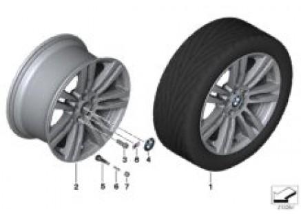 BMW LA wheel, M Double Spoke 333