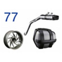 Optional Equipment+Accessories, Motorrad