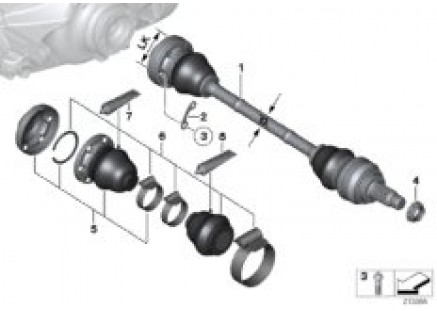 Output shaft