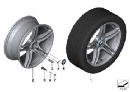 BMW LA wheel, M Double Spoke 313
