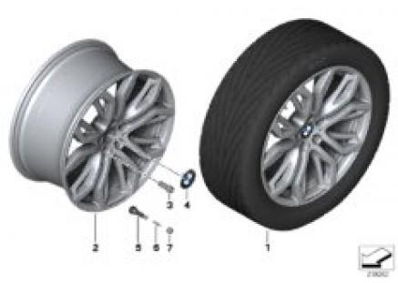 BMW LA wheel Y Spoke 375 BMW Performance