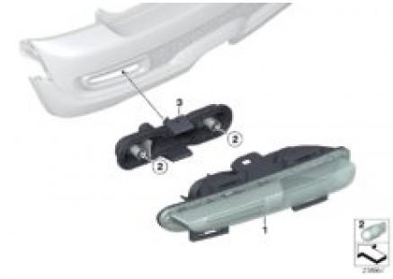 Rear fog lamp/backup light