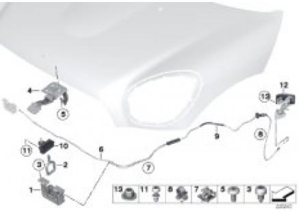 Front hatch / locking system