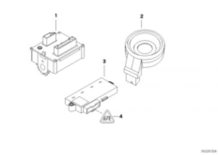 Ign./starting switch/ring antenna/CAS