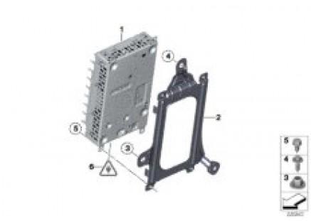 Amplifier/bracket, Harman Kardon system