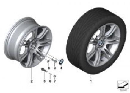 BMW LA wheel M Double Spoke 350 - 18''