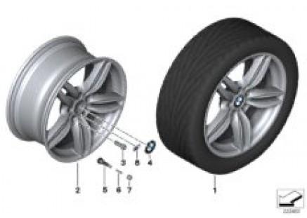 BMW LA wheel M Double Spoke 351 - 19''