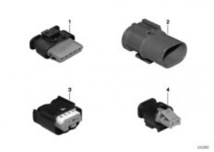 Various plug terminals
