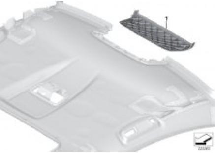 Indi. mounting parts, molded headliner