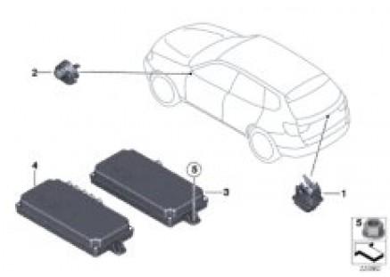Rear / top-rearview camera