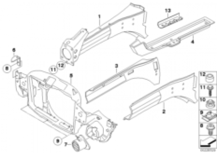 Front body parts