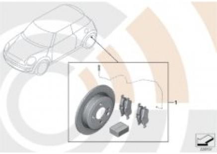 Service Kit, brake rotors / Value Line