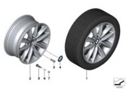 BMW LA wheel, V Spoke 307