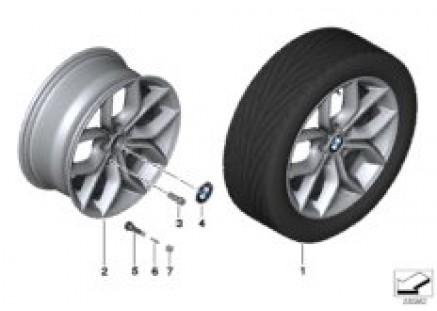 BMW LA wheel Y Spoke 308