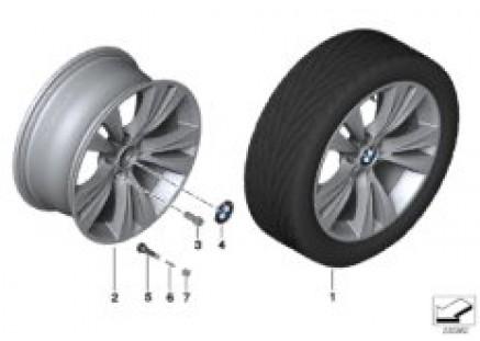 BMW LA wheel, Double Spoke 309