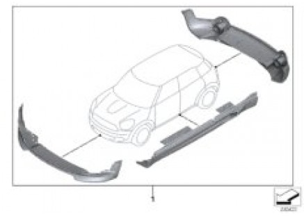 JCW Aerodynamics Package