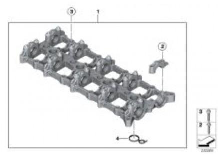 Cylinder head/intermediate housing