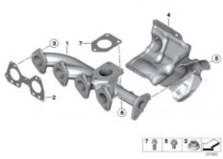 Exhaust manifold-AGR