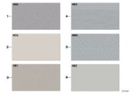 Sample chart with interior moldings
