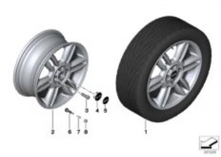 MINI LA wheel 6 Star Twin Spoke 119