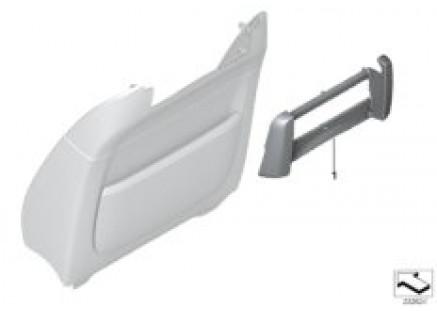 Individual trim, rear monitor