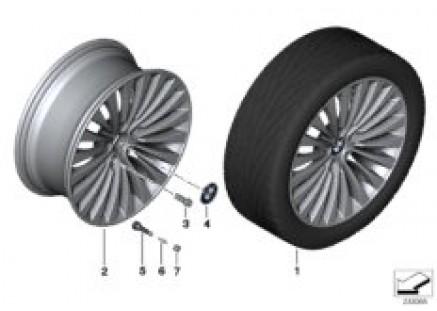 BMW LA wheel, Multispoke 410