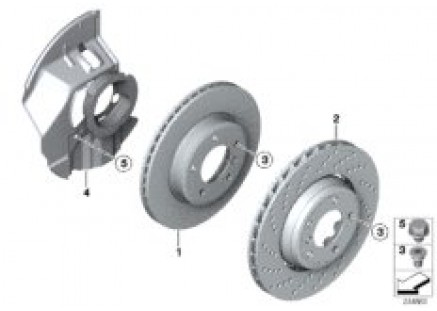 Front brake / brake disc