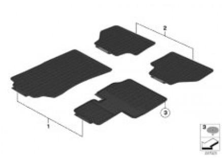 Floor mats, all-weather