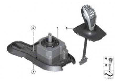 Shift mechanism, automatic trans 8HP