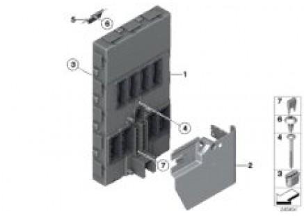 Control unit, front electronic module