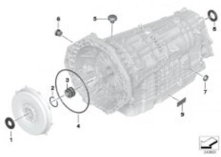 GA7AHSCD seal elements / mounting parts