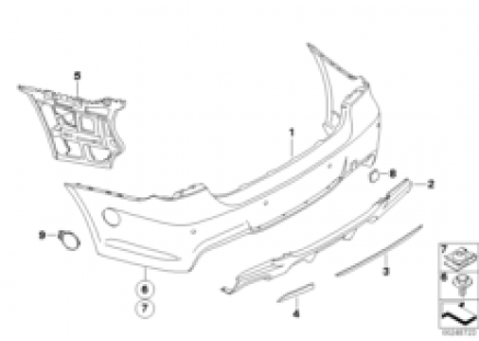 BMW Performance Aerodynamics, rear