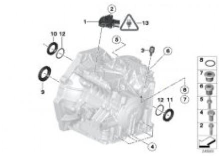 GA6F21WA mounting parts/gaskets