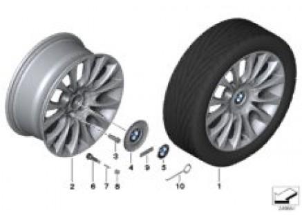 BMW LA wheel Individual V spoke 349-19''