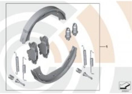 Service Kit for brake shoes / Value Line
