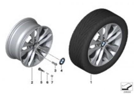 BMW LA wheel, V Spoke 412