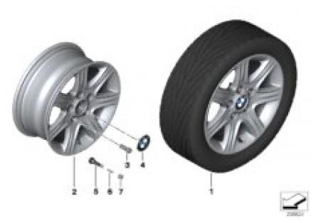 BMW LA wheel, Star Spoke 377