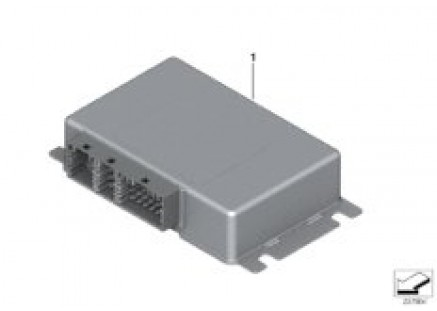 Control unit for rear differential lock