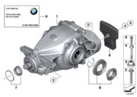 Mechanical self-locking differential