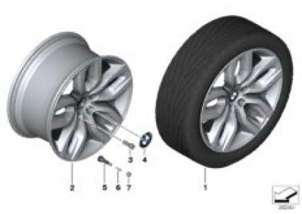 BMW LA wheel Y Spoke 337