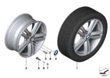 BMW LA wheel M Star Spoke 386