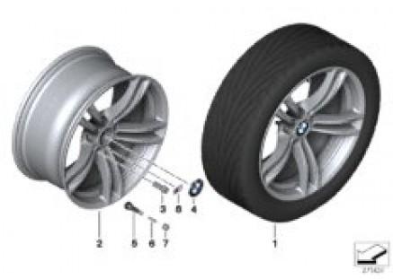 BMW LA wheel M Double Spoke 408